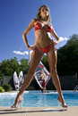 Windsurfer And Hot Babe Stock Images - 10377434