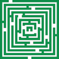 Maze 01 Color Stock Images - 10387634