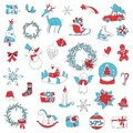 Christmas Set Icon Stickers Can Be Used For Advent Royalty Free Stock Photos - 103852528