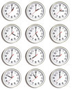 Wall Of Clocks Royalty Free Stock Images - 10390839