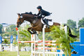Premier Cup Equestrian Show Jumping Royalty Free Stock Photography - 10398727