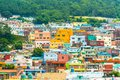 Beautiful Architecture At Gamcheon Culture Village In Busan Stock Photos - 103909023