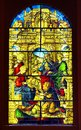 Stained Glass In Toledo Stock Photo - 104069480