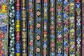 Decorative Belts Colorful Background Stock Photo - 104110760