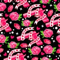 Fashion Background With Hand Drawn Design Elements. Royalty Free Stock Images - 104186689