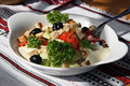 Appetizing Salad On A Plate Royalty Free Stock Images - 10426789