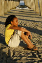 C - African-American Girl 14 Royalty Free Stock Photos - 10427748