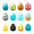 Set Of Colorful Eggs Royalty Free Stock Images - 104208169