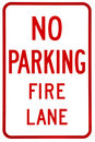 Sign- No Parking Stock Photo - 10434140