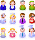 People Icons Royalty Free Stock Image - 10441046