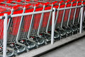 Shopping Carts Angle Royalty Free Stock Photography - 10441377