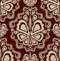 Decorative Seamless Floral Ornament Royalty Free Stock Photos - 10459348
