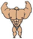 Muscle Man Stock Images - 10479204