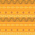 Seamless Hand Painted Geometric Ethnic Pattern Stock Photo - 104759170