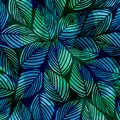 Floral Tie Dye Texture Modern Pattern Classic Royalty Free Stock Photo - 104831825