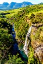 Lisbon Falls Near God`s Window On The Panorama Route Royalty Free Stock Images - 104853859