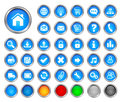 Internet Buttons Royalty Free Stock Photography - 10497797