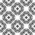 Vector BLACK WHITE PATTERN DESIGN GEOMETRIC Stock Photo - 104972660