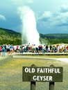 Old Faithful Royalty Free Stock Photo - 1053105