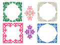Floral Frames Stock Photography - 1057962