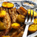 Pork Roast Meat Royalty Free Stock Images - 10509879