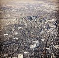 Winter Aerial View Of Calgary Alberta Stock Photos - 105137523
