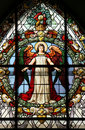 Beautiful Stained Glass Window Stock Images - 10534034