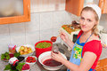The Woman Cooks Jam Stock Photos - 10540853