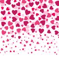 Love Romantic Background Witn Colorful Hearts,  Valentines Day Pattern, Royalty Free Stock Photos - 105465758