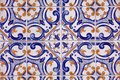 Detail Of Traditional  Tiles On Facade Of Old House Stock Images - 105552144