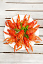 Lobsters On A Plate Stock Images - 10561494