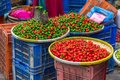 Stand With Local Food On Streets Of Kathmandu. Royalty Free Stock Photo - 105643085