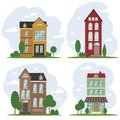 Traditional European Architecture, Old Town Houses Stock Photography - 105663252