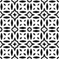 VECTOR GEOMETRICAL BLACK AND WHITE PATTERN DESIGN Stock Images - 105851224