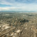 Aerial View Of Calgary Downtown In Winter Stock Images - 105975184