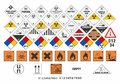 Safety Warning Signs - Transport Signs 3/3 - Vector Stock Photography - 105986832
