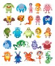 Cute Monsters Set Royalty Free Stock Photo - 106012585