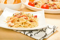 Spaghetti Carbonara Royalty Free Stock Photography - 10619707