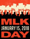 Poster Or Banner For Martin Luther King Day. Protest Rally. Stock Photos - 106181263