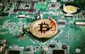 Bitcoin Digital Currency Blockchain Crytocurrencies Concept Stock Images - 106249694