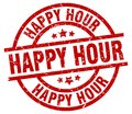 Happy Hour Stamp Royalty Free Stock Photos - 106473678