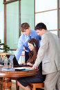 Meeting In The Office Royalty Free Stock Image - 10676336