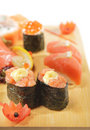 Japanese Cuisine - Sushi Set Stock Photography - 10677122