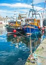 Trust At Burghead Harbour Stock Photo - 106771680