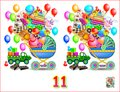 Logic Puzzle Game For Children And Adults. Need To Find 11 Differences. Royalty Free Stock Image - 106787256