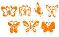 Butterfly Symbols Stock Images - 10688954