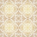 Vector Vintage Seamless Pattern In Eastern Style. Royalty Free Stock Images - 106883939