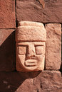 Tiahuanaco Stone Face Stock Photo - 10692300