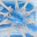 Women S Hands Royalty Free Stock Image - 10694596