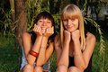 Two Sisters Stock Images - 10706124